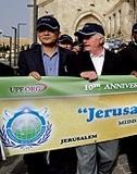 ユダヤ教とキリスト教が手を組んだ!?  世紀の一瞬をスクープ!!