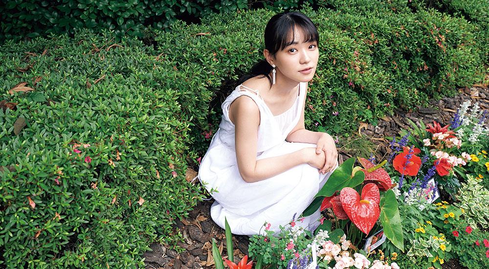【今月インタビュー/奈緒】『半分、青い。』の注目女優、師匠は野島伸司!