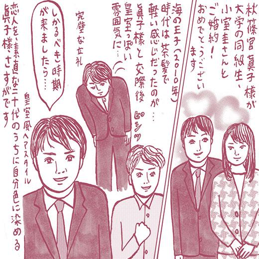 女子は自分と一番遠い遺伝子に惹かれてしまうもの、眞子様が選んだ小室氏の魅力の画像1