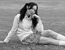 【アイドル・西田藍】「ミニスカの女子高生と、制服に虚構性」