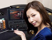 【横山美雪】のカジノのすゝめ「まずはオンラインで気軽にラスベガス気分楽しんじゃいましょ♪」