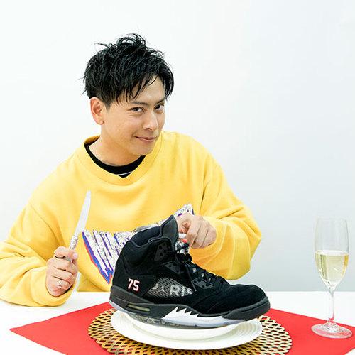 【11月号特集/禁断の家電・ガジェット】山下健二郎/三代目JSBのスニーカー愛