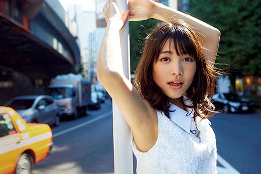 【松永 有紗】10年間のバトン生活で鍛えた根性で、新たな一歩を踏み出す新人女優の画像1