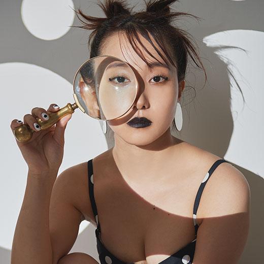 【橘ひと美】夢は、母の前で始球式――143センチ美女の上京物語の画像2